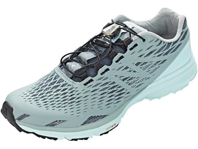 Salomon XA Amphib Shoes Women Stormy Weather/Lead/Canal Blue